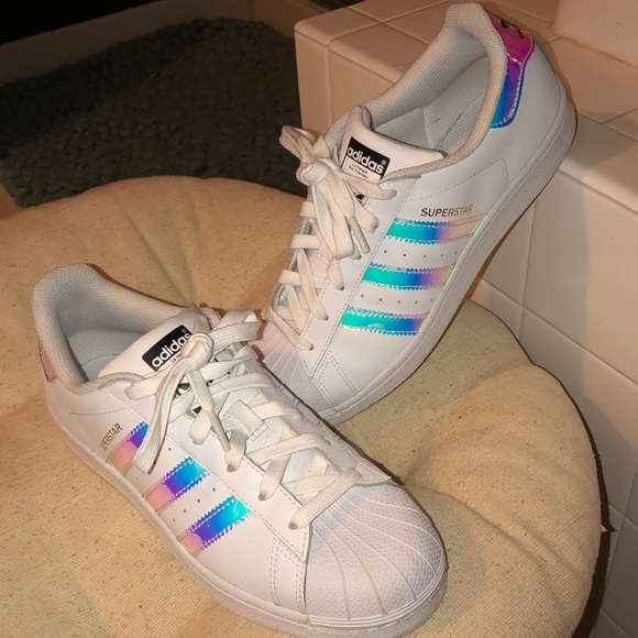 sports shoes f7ac4 fbfc6 adidas Other - adidas superstar hologram shoe